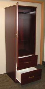 Retro 2 Door-2 Drawer Wardrobe -40