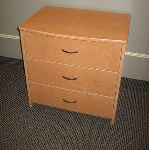 Chic 3 Drawer Dresser - Oak -40