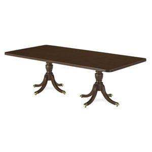 HCF Coffee Table with Duncan Phyfe Legs -08