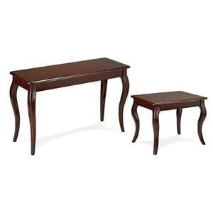 HCF Sofa and End Table Grouping French Legs