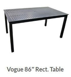 Vogue 86 x 42inch Dining Table -37