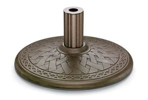 21inch Round Cast Aluminum Umbrella Base -29