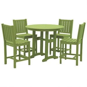 Lewiston Counter Height Dining Set - Lime Green -48