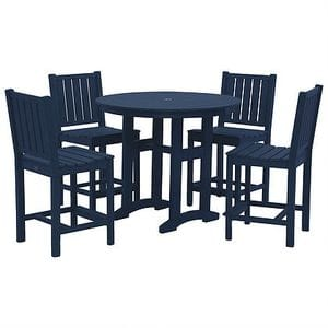 Lewiston Counter Height Dining Set - Navy -48
