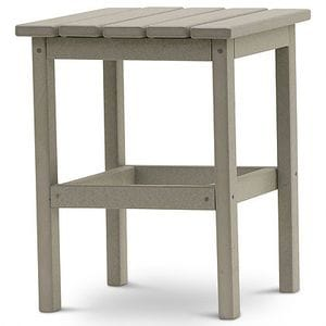 DG 15 Inch Square Side Table -Light Gray -48