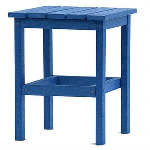 DG 15 Inch Square Side Table -Royal Blue -48