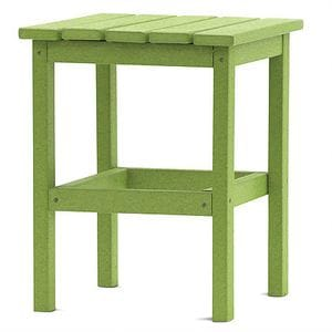 DG 15 Inch Square Side Table - Lime Green -48