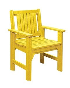 C12 Dining Chair-yellow -37