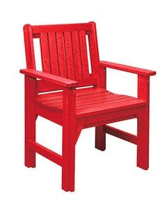 C12 Dining Chair-red -37