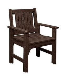 C12 Dining Chair-chocolate -37