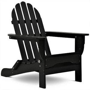 Adirondack Chair - Black -48