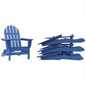 Adirondack 4 Pack - Azure Blue -48