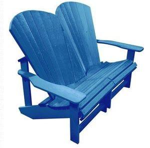 Addy Loveseat - Blue -37