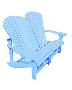 Addy Loveseat - Sky Blue -37