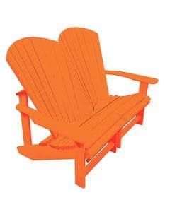 Addy Loveseat - Orange -37