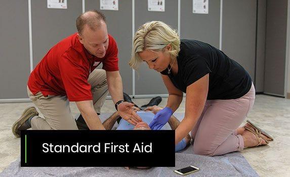 Standard First Aid 13.5 -14.5hrs