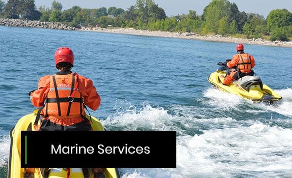 marine safety and rescue services
