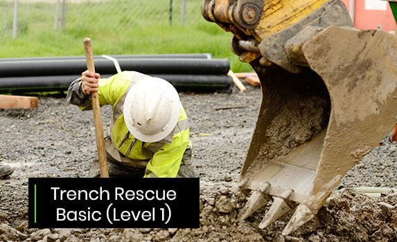 trench rescue basic level 1