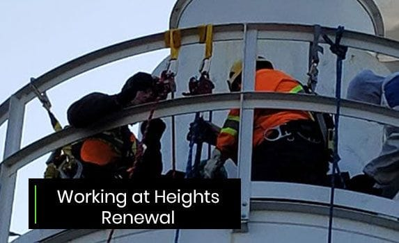 Working at Heights Renewal - CPO of the Ministry of Labour Approved