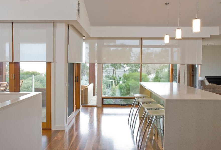 A home with our roller blinds near Deepdene