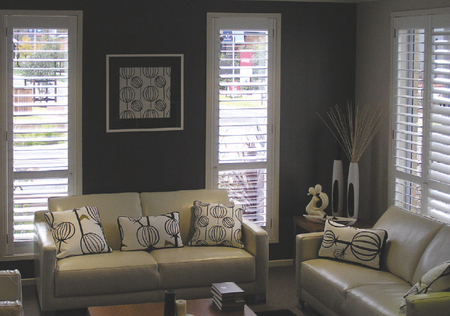 A home with some of our shutters near Deepdene