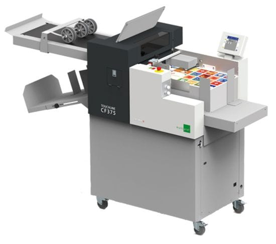 Creaser Folder Product Feature : Why Buy a Multigraf Touchline CF375