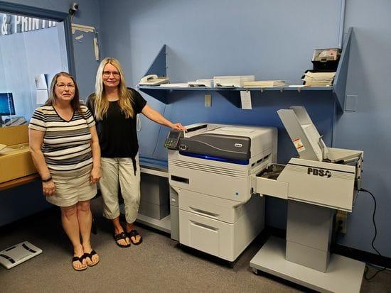 Express Printing's New OKI