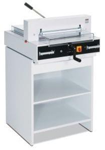 """TRIUMPH 4315 SEMI-AUTOMATIC TABLETOP CUTTER, 18 3/4"""" cutting width"""