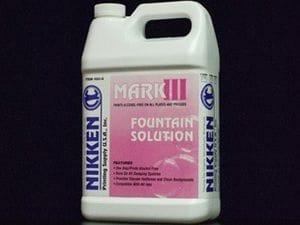 Mark III - Fountain Solution