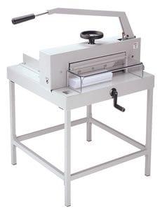 """TRIUMPH 4705 MANUAL TABLETOP CUTTER, 18 3/4"""" cutting width"""