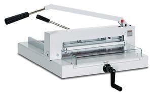 TRIUMPH 4305 MANUAL TABLETOP CUTTER,  16 7/8 cutting width