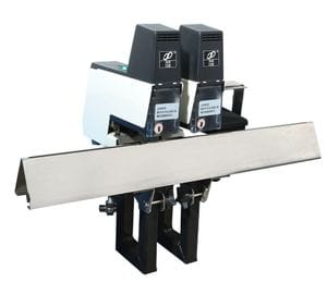 Double Head Commercial Saddle and Flat Stapler