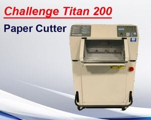 "Challenge Titan 200   20"" Cutter (used)"