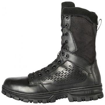 "5.11 EVO 8"" Black (Side Zip) Boot"