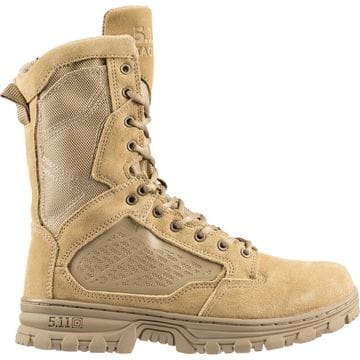 """5.11 EVO 8"""" Desert (Side Zip) Boot"""