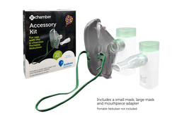 e-chamber Portable Nebuliser Accessory Kit