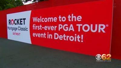 The PGA Tour Comes To Detroit