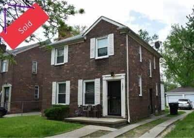 16821 Stansbury Ave Detroit MI 48235 | Cashflow Positive | cash positive investments | positive cash flow investments | why invest in detroit