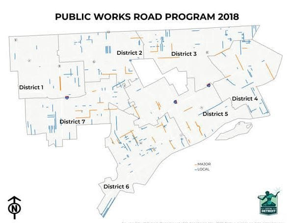 88 Miles Of Detroit Streets To Be Repaved