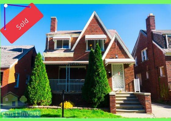 15410 Sorrento St, Detroit, MI | Can I Invest | cash positive investments | positive cash flow investments | why invest in detroit