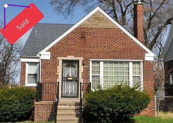 15916 Rutherford St, Detroit | Can I Invest | cash positive investments | positive cash flow investments | why invest in detroit