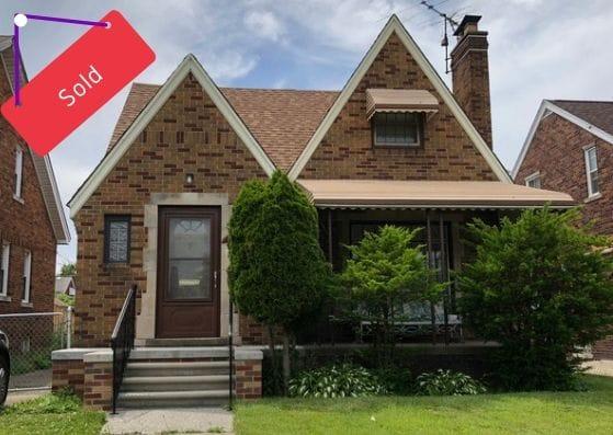17159 Albion St, Detroit, MI | Can I Invest | cash positive investments | positive cash flow investments | why invest in detroit