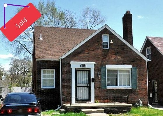 18300 Stoepel St, Detroit, MI | Can I Invest | cash positive investments | positive cash flow investments | why invest in detroit
