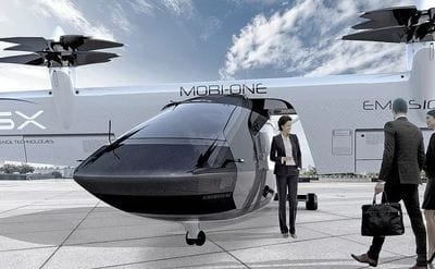 Mobility startup takes flight from Detroit automotive cradle