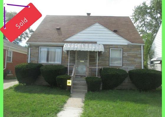 7417 Vaughan St, Detroit, MI | Can I Invest | cash positive investments | positive cash flow investments | why invest in detroit