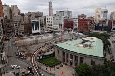 How would a national recession affect Detroit?