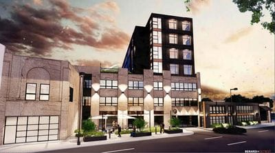 $21 million development with apartments, parking garage, retail planned on Jefferson