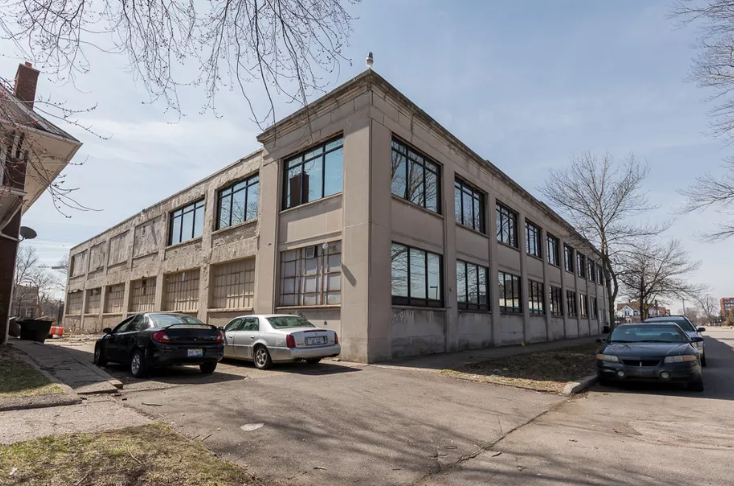 38 Unit Redevelopment Project of the former Packard Automotive Showroom