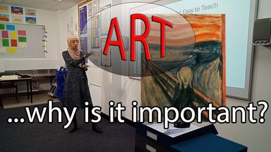 EdFLIX @ Irfan College - Episode 1 - Why Is Art Important