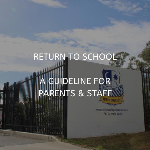 Covid return to school